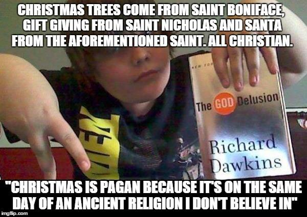 christmas is a pagan holiday the war on christmas know your meme