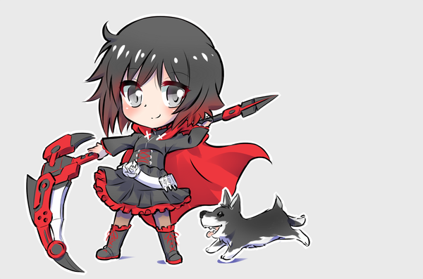 Chibi Ruby & Zwei | RWBY | Know Your Meme