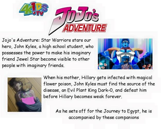 A summary of 4kids' JoJo's Bizarre Adventure dub air on US 1