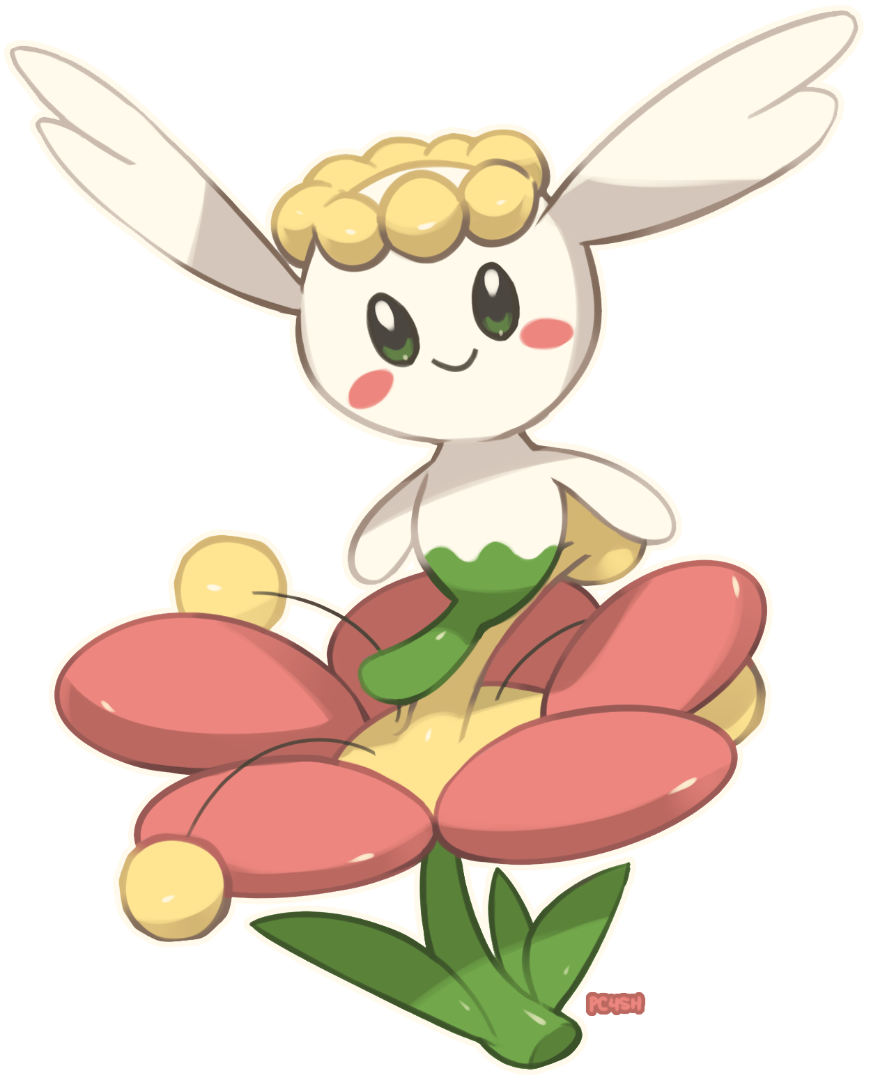 flabebe pokemon shiny - HD 900×1116