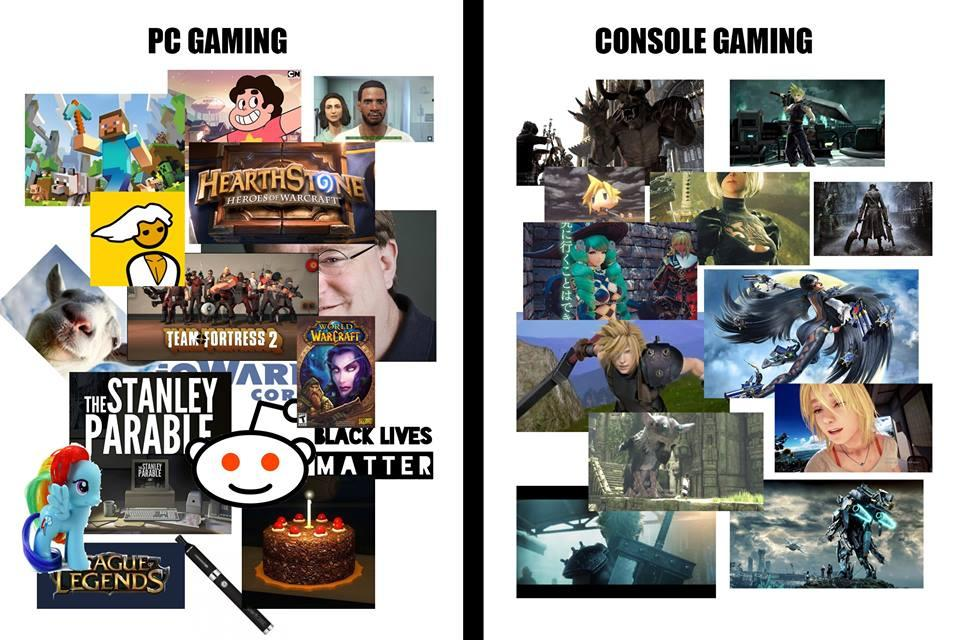 PC Gaming vs  Console Gaming | Console Wars / Console