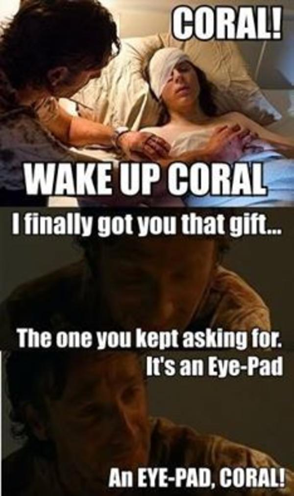 Coral The Walking Dead Know Your Meme
