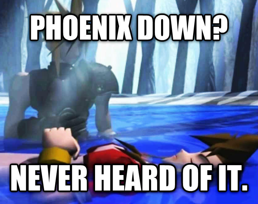 Cloud Strife And Zack Fair Meme Final Fantasy Vii Crisis Core