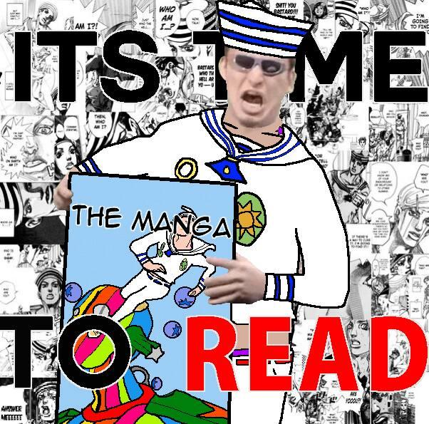 It S Time To Read The Manga It S Time To Stop Know Your Meme