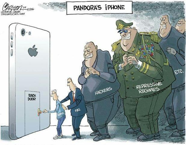 Pandora S Iphone The Fbi Vs Apple Know Your Meme
