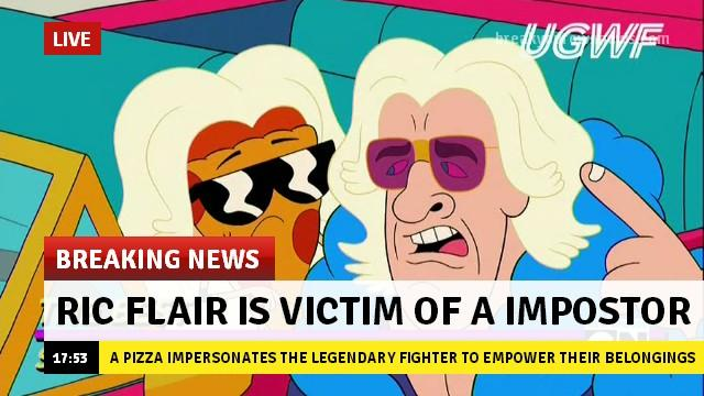 Ric Flair In Uncle Grandpa