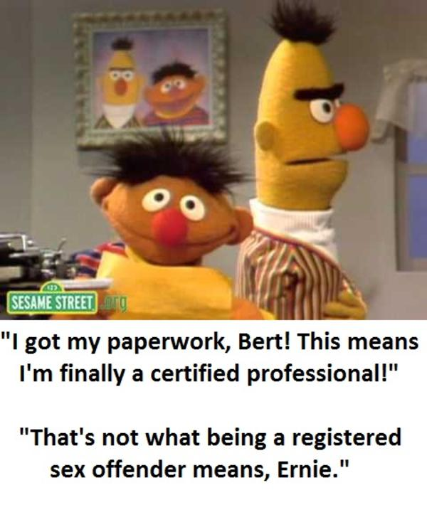 Well At Least Ernie Tried At Something Bertstrips Know Your Meme
