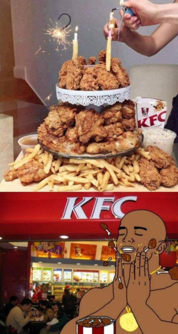 Its For A Birthday Boy Kentucky Fried Chicken Kfc Know Your Meme