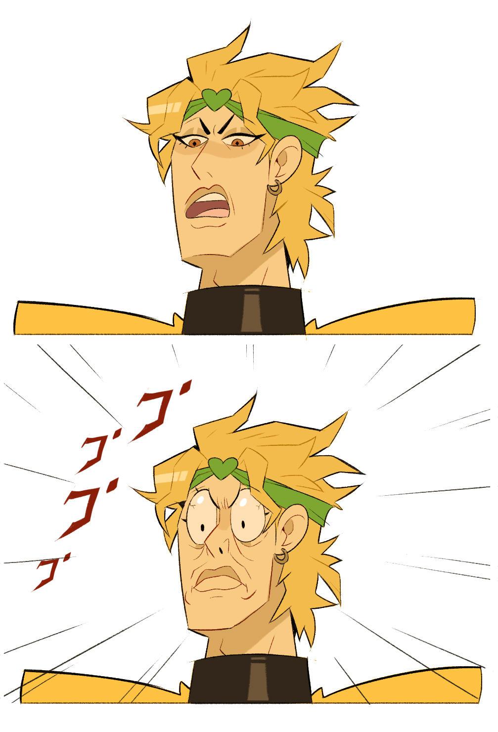 yellow diomond dio brando know your meme