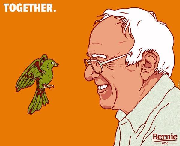 together birdie sanders know your meme