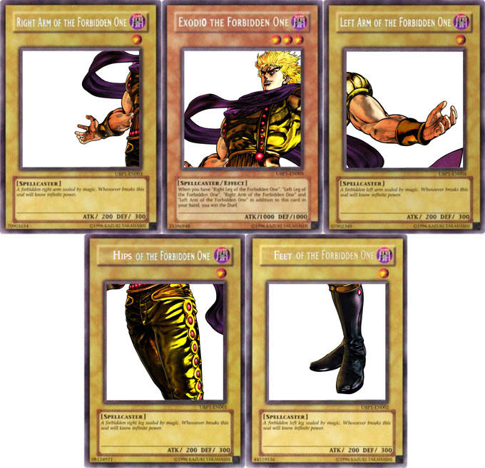 You Thought It S Gonna Be Exodia But It Was I Dio Exodia The