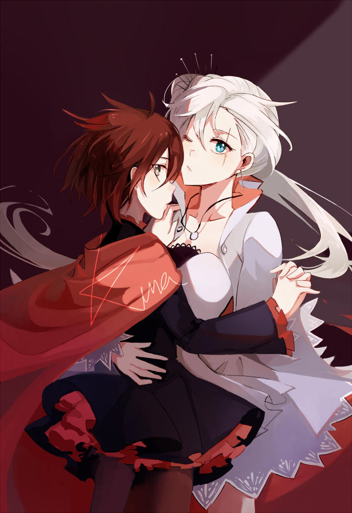 Rwby ruby x weiss, painfully anal sex