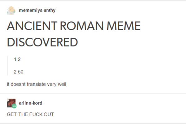ancient roman meme loss know your meme