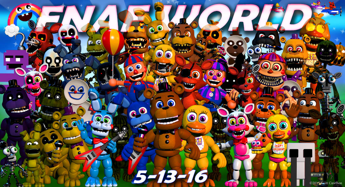 Fnaf world update 2 release date confirmed | Five Nights at
