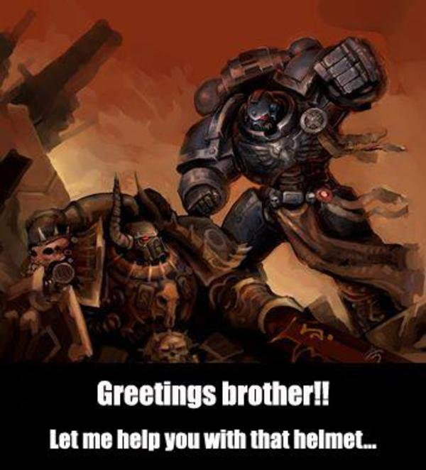 I Cast Fist Warhammer 40 000 Know Your Meme