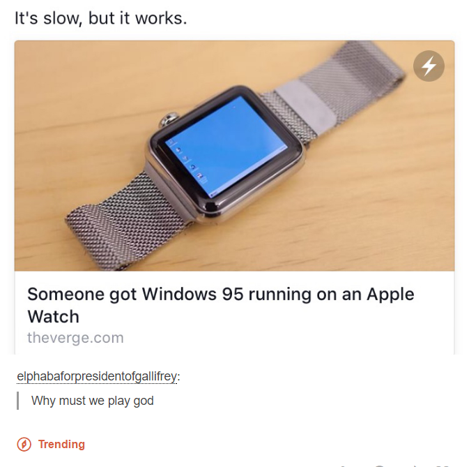 Why? | Apple Watch | Know Your Meme