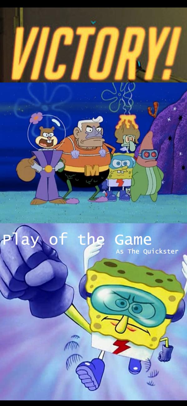 Spongebob is always relevant | Overwatch