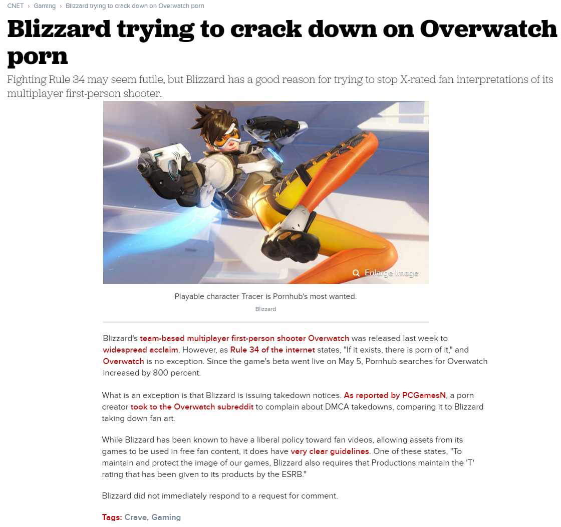 Porn Blizzars Free blizzard trying to crack down on overwatch porn | overwatch