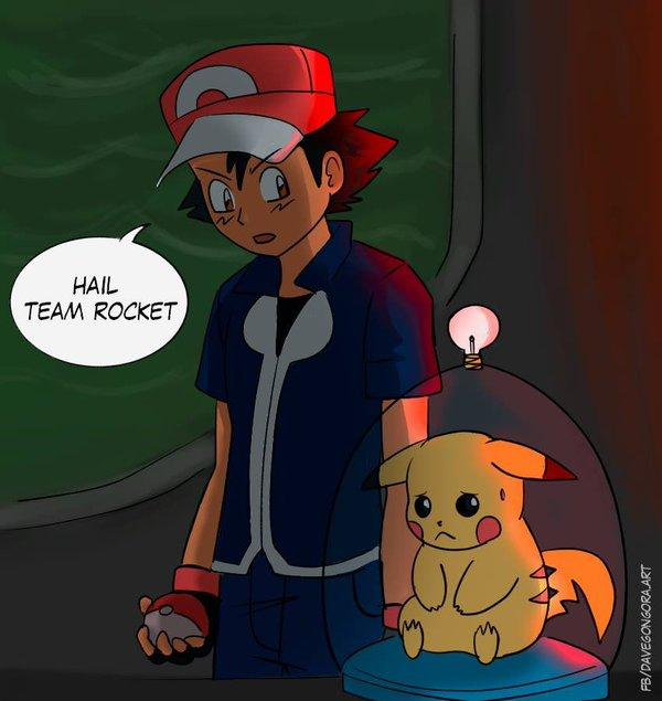 hail team rocket after 19 years of the pokemon anime he s a member