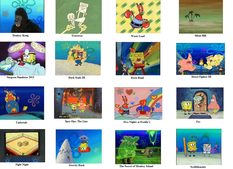Threw My Hat Into The Ring Bandwagon Spongebob Comparison