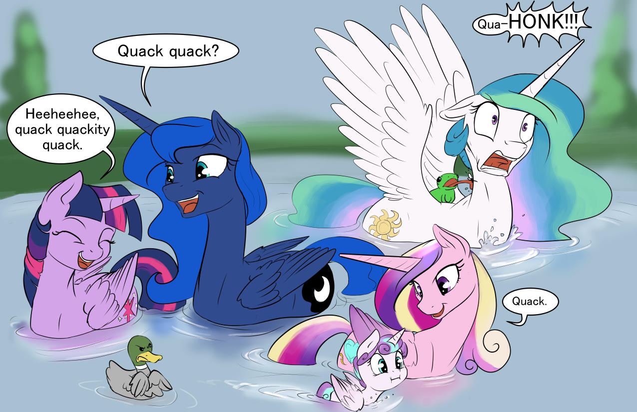 Someone told us we looked like ducks | My Little Pony