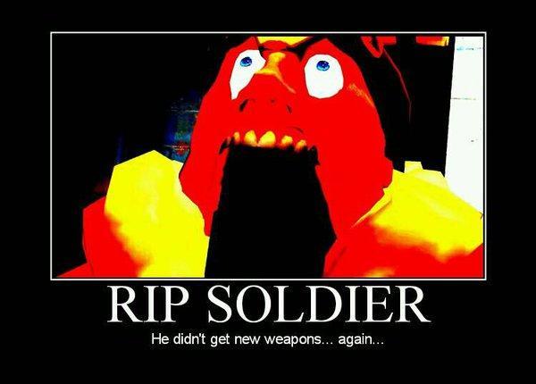 gaben pls   New Weapons Soldier   Know Your Meme