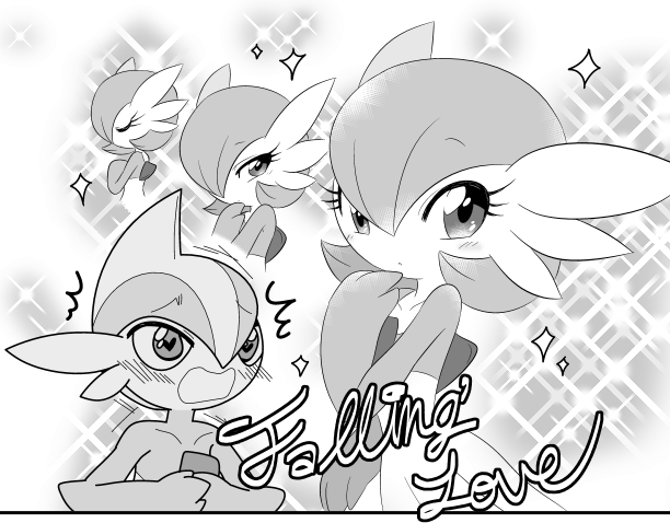 Falling Love By Banoakira Gardevoir Know Your Meme