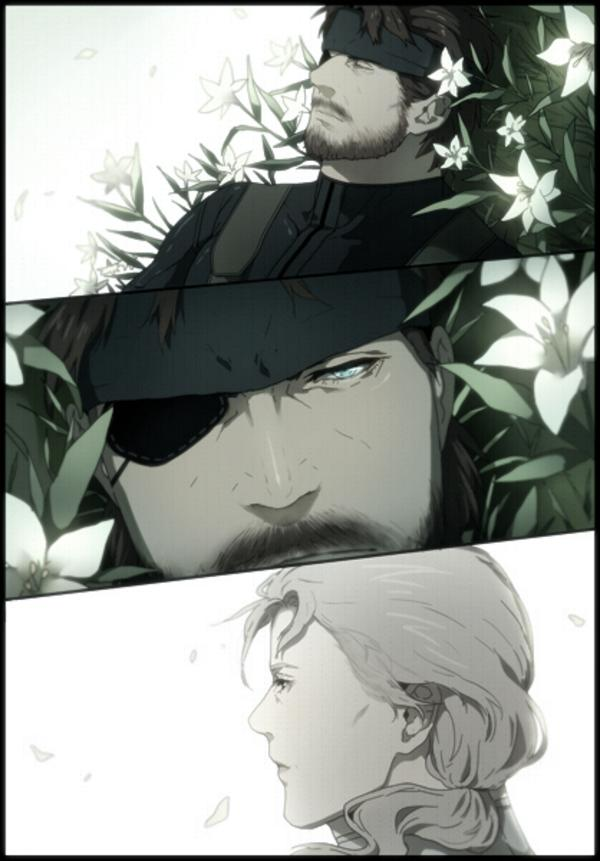Big Boss And The Boss Metal Gear Solid 3 Snake Eater