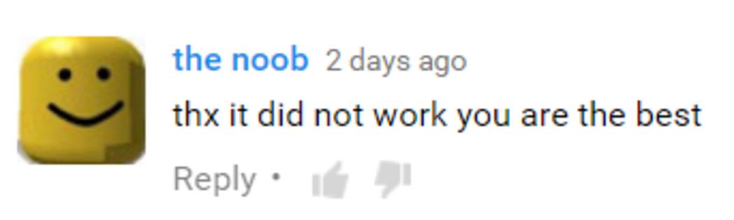 Genuine Response Youtube Know Your Meme