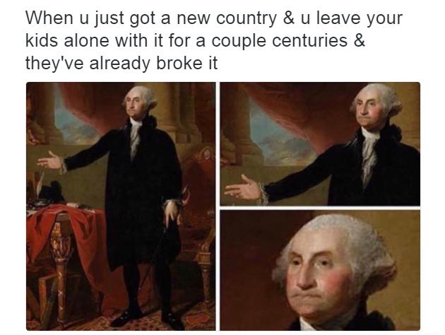 ebd broke america sassy george washington know your meme
