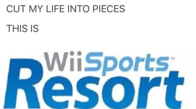 Wii Sports Resort | Last Resort / Cut My Life Into Pieces