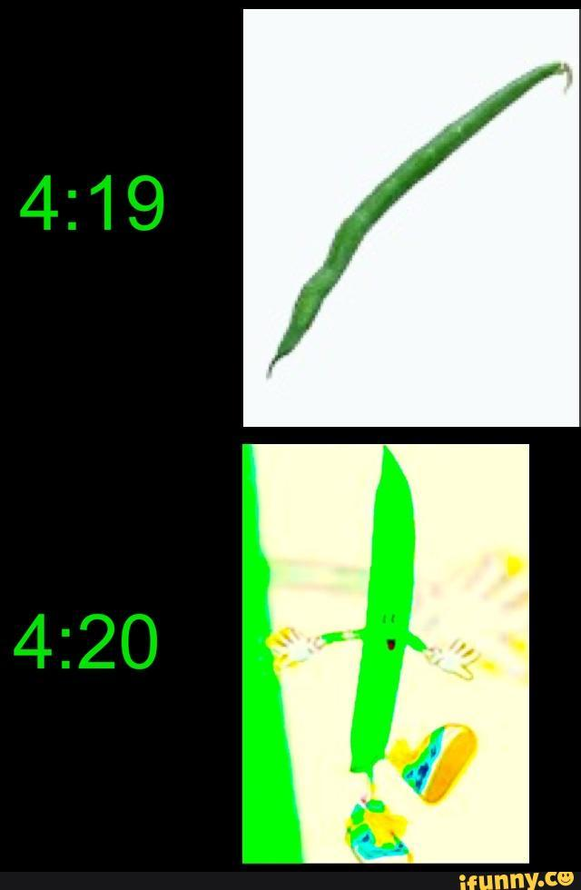 4:19 4:20 ifunny.ce green text yellow leaf font organism line