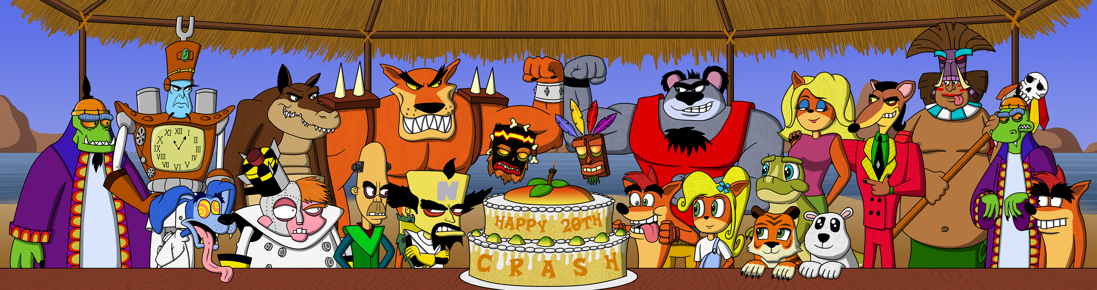 Crash Bandicoot 20th Anniversary Crash Bandicoot Know Your Meme