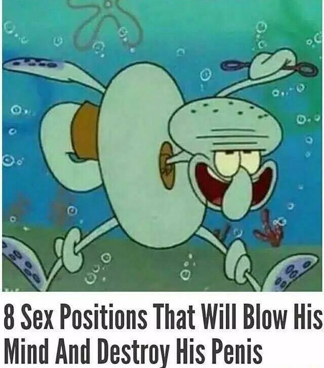 Sex position to blow his mind