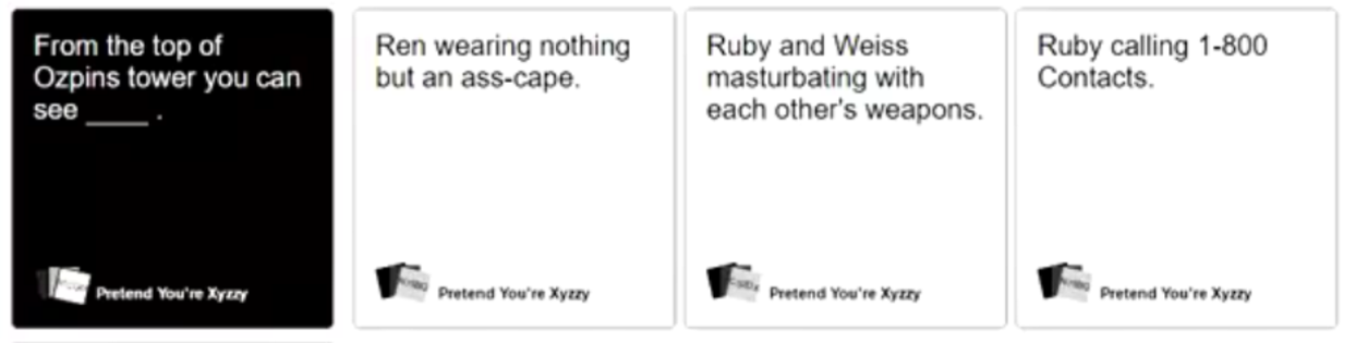 Image of: Cah Rwby Geez Know Your Meme Geez Rwby Know Your Meme