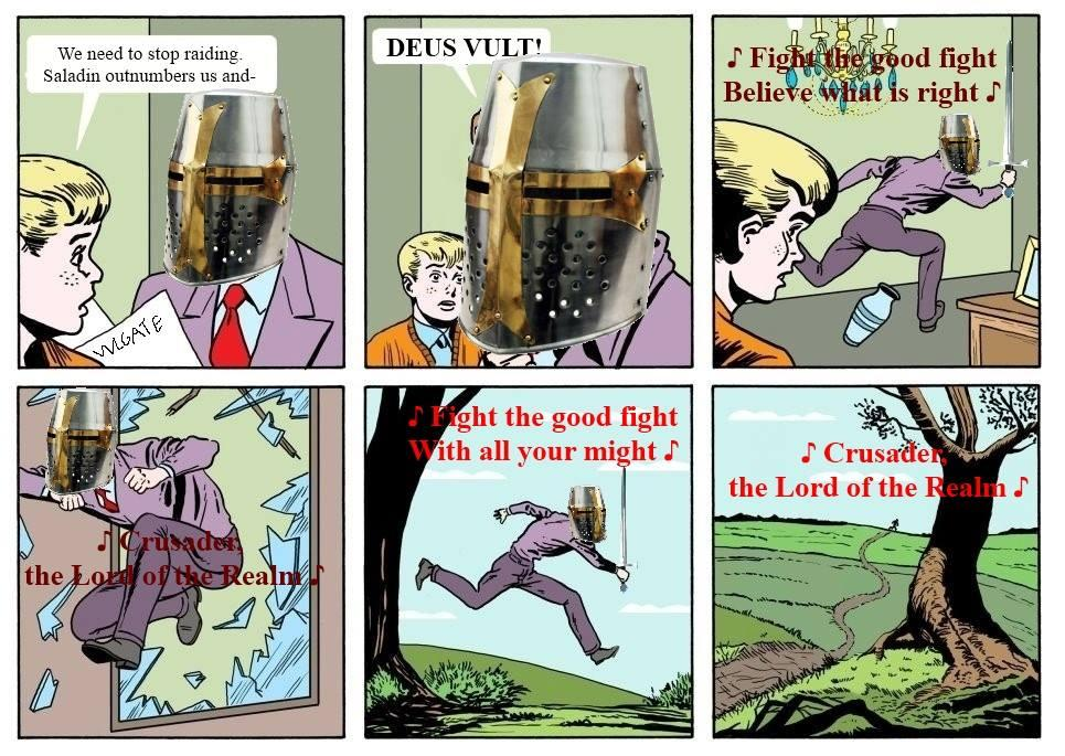Running Dad Deus Vult Know Your Meme