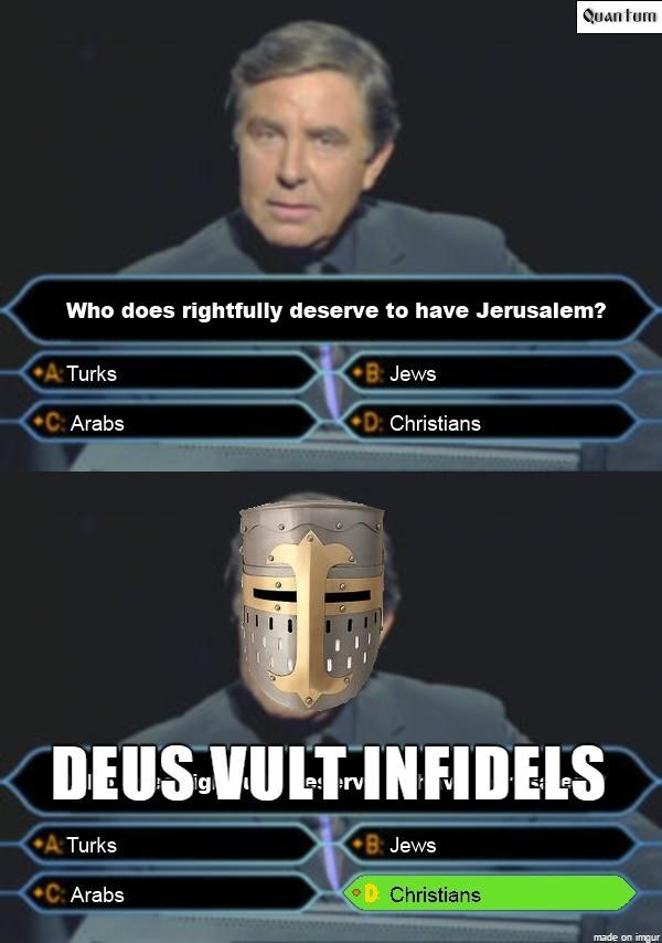 Who Does Rightfully Deserve To Have Jerusalem Deus Vult Know