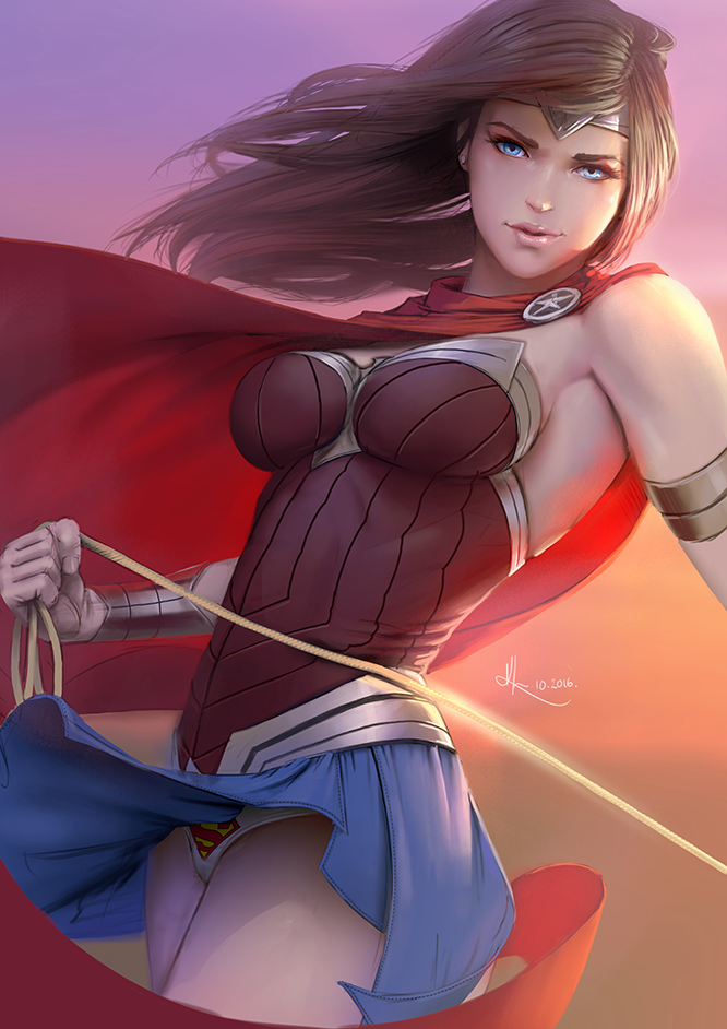 Wonder Woman And Her Lasso Wonder Woman Know Your Meme