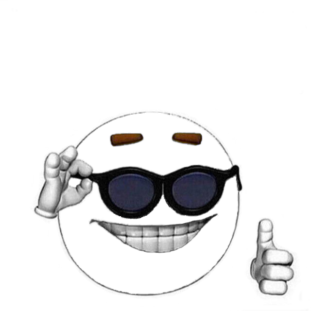 White Smiley Template Anarcho Capitalism Know Your Meme