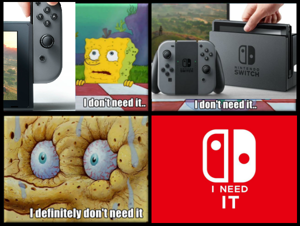 Image result for nintendo switch memes