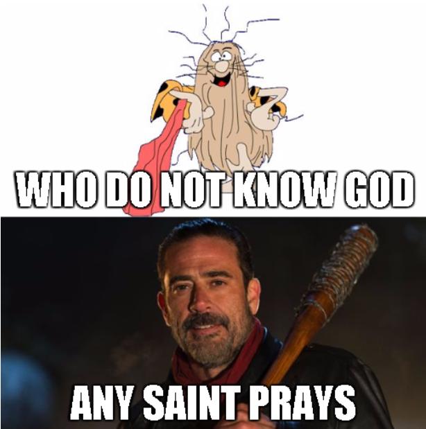 Negan Ladies And Gentlemen The Walking Dead Know Your Meme