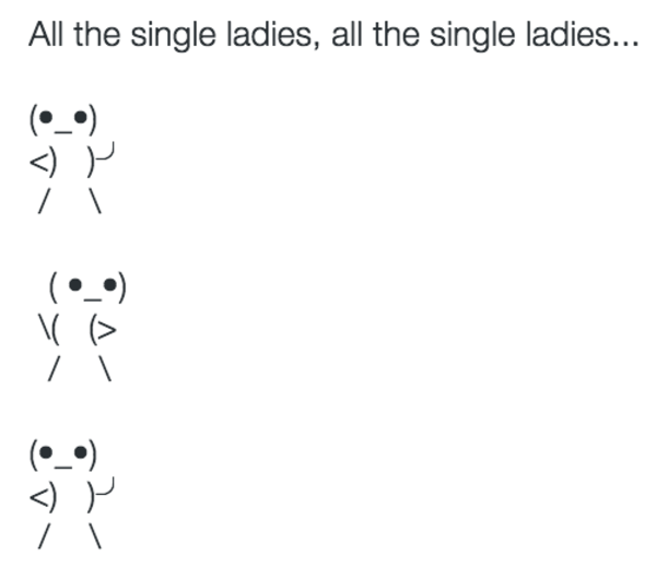 Single and emoji copy the paste ladies all Evolution of