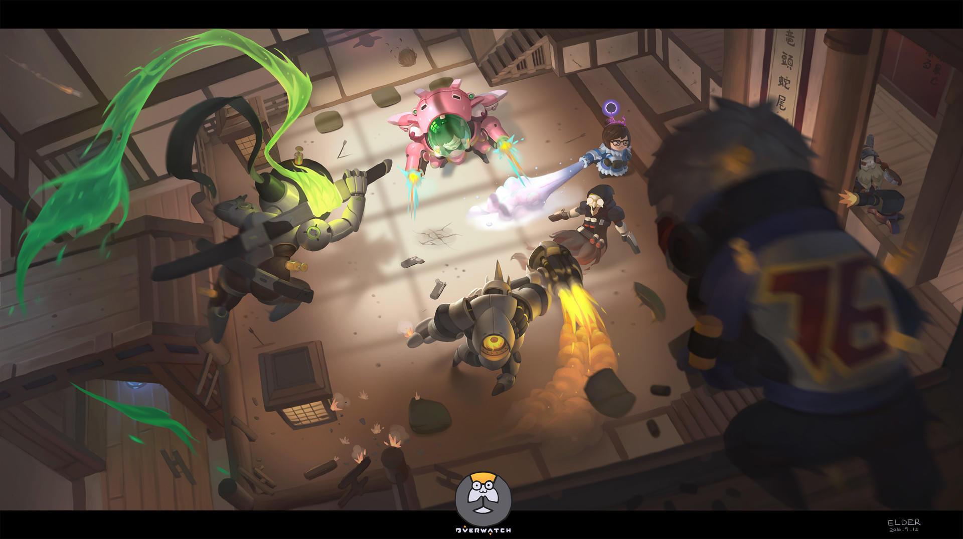 Картинки по запросу screenshot overwatch hanamura