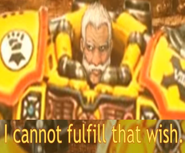 I Cannot Fulfill That Wish If The Emperor Had A Text To Speech