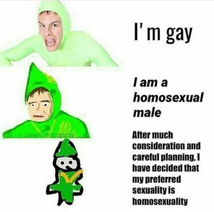 I know that i am gay