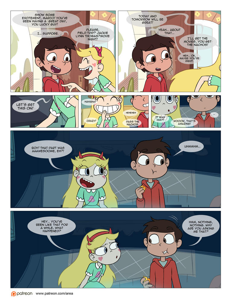 Between friends star vs the forces of evil