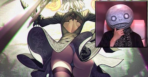 Yoko Taro On Butt Nier Automata Know Your Meme