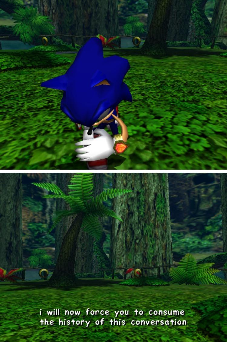 We Need A Verbose Meme Generator Sonic The Hedgehog Know Your Meme