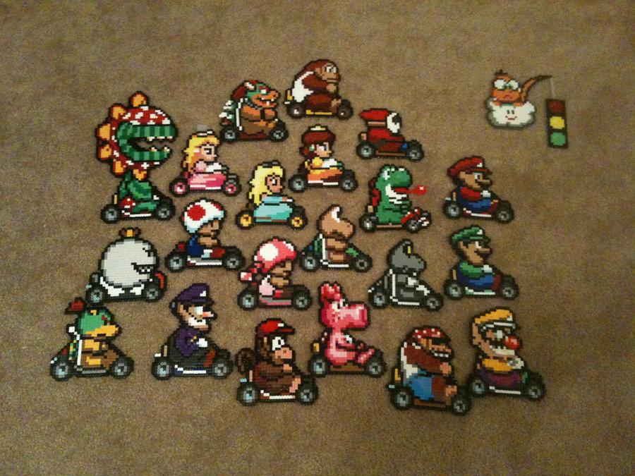Perler Beads | Mario Kart | Know Your Meme