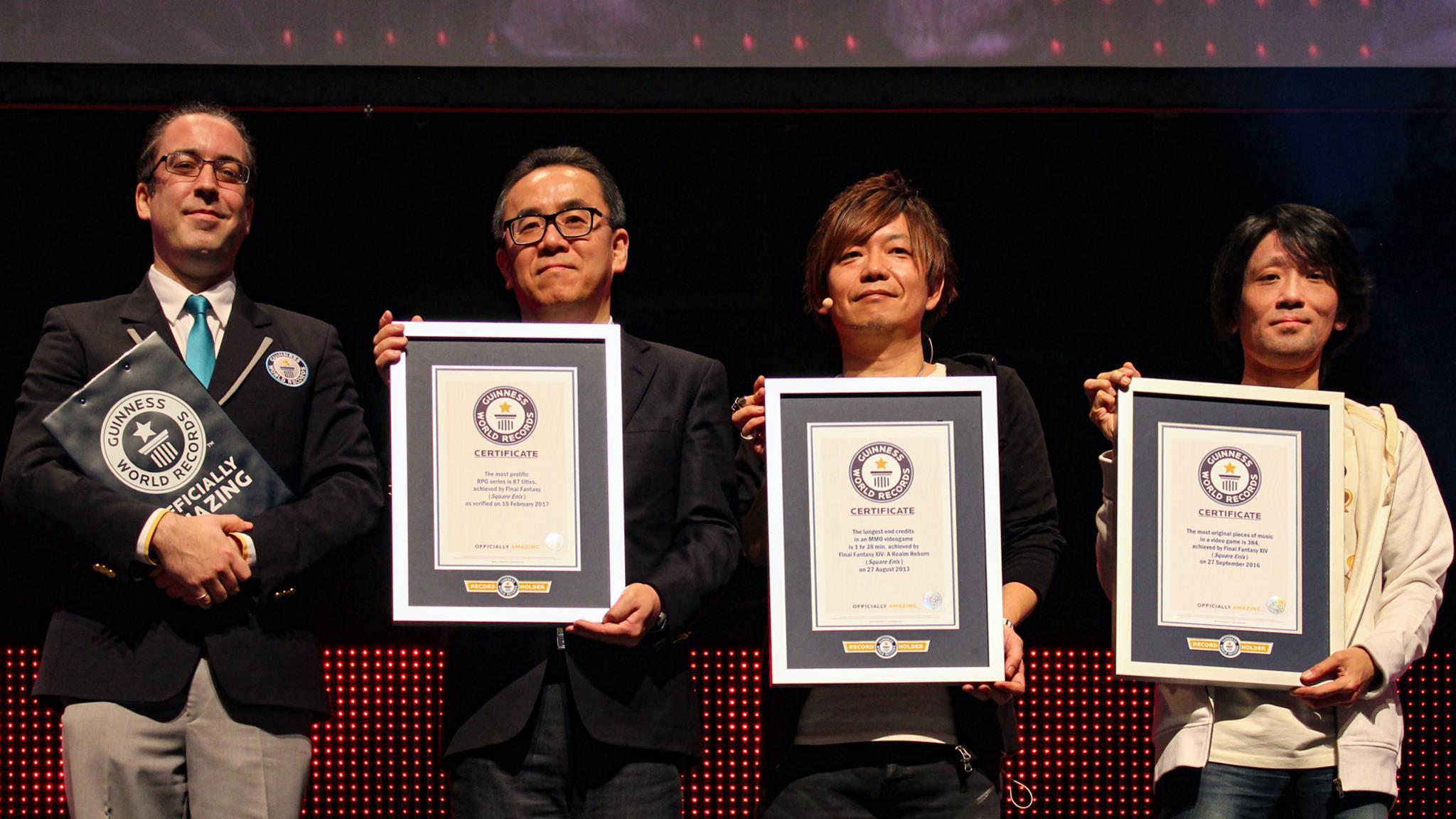 Achieving Three Guinness World Records | Final Fantasy XIV